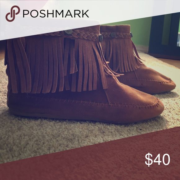 Short brown boots Short brown boots size 8.5 (US) Shoes Ankle Boots & Booties