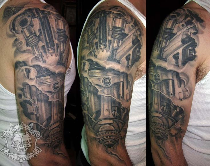 piston tattoo - Google Search