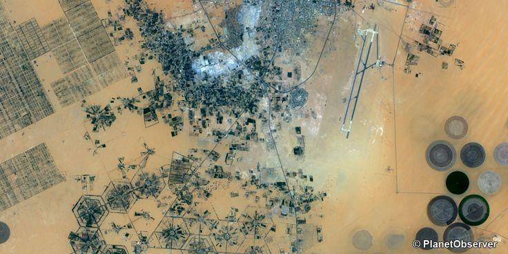 Kufra oasis, Libya – PlanetSAT 15 L8 satellite image