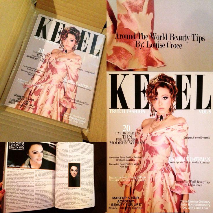 My latest Contributing Beauty Review in Keel Magazine. #AroundTheWorldBeautyTips.