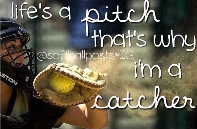 Love being a catcher
