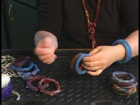 How to Make Felt Bracelets - embellishment ideas