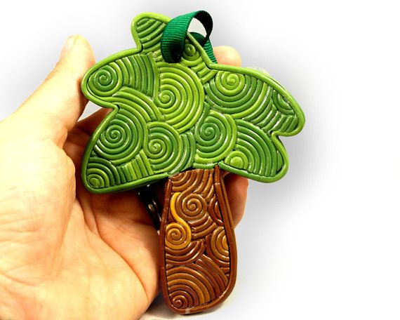 Palm tree ornament tropical Christmas ornament by epicycledesigns