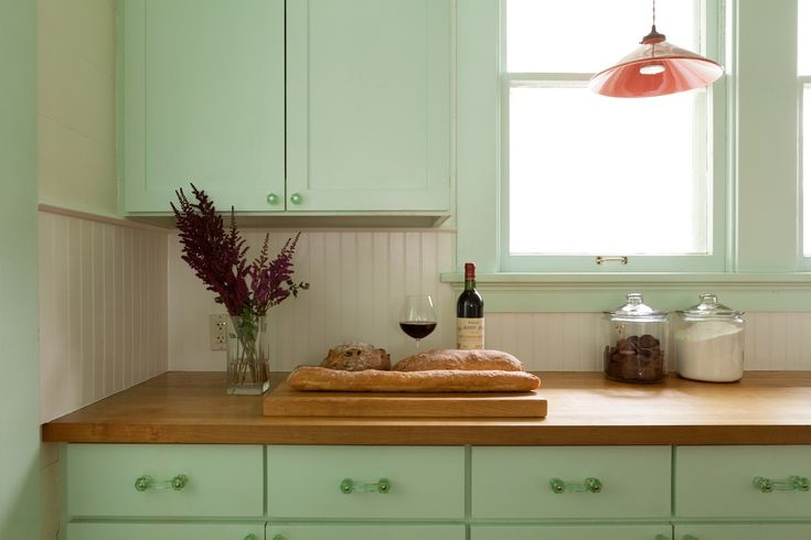 encimera de madera - El top 3 en encimeras de cocina: granito, mármol sintético y madera