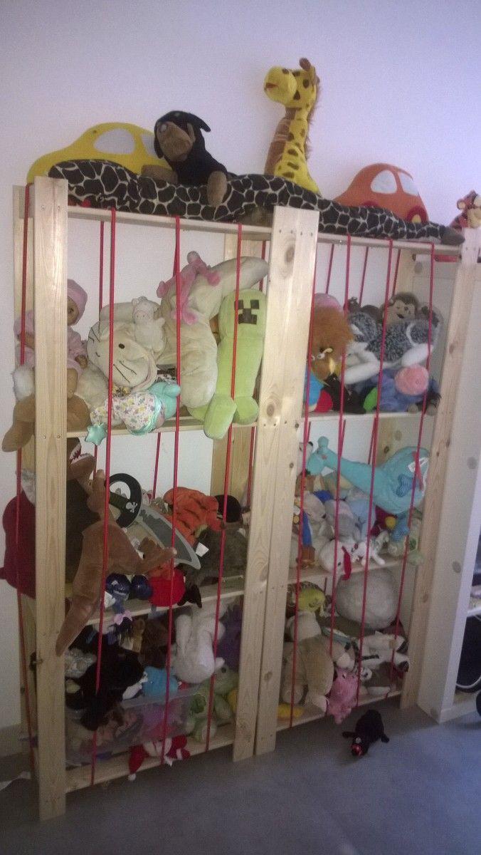 Un Zoo à doudous à petit prix  #ikea #jouet #rangement