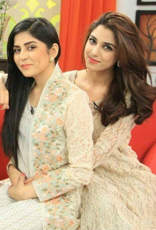 Sanam Baloch and Maya Ali