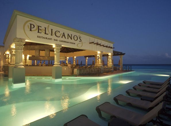 One of these chairs is calling our name! Pelicanos at #HyattZilara Cancun