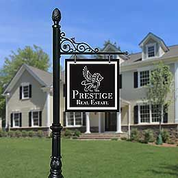 Product Portfolio: Decorative, Luxury Real Estate / Realtor Sign Post Systems