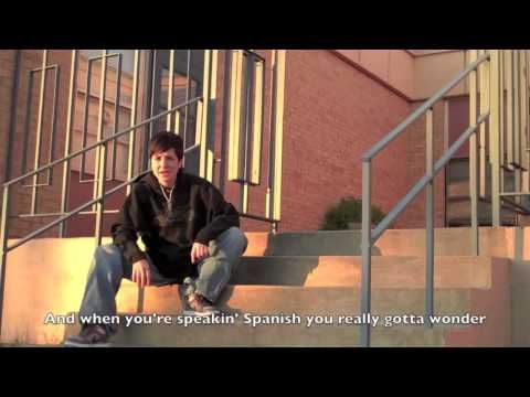 """Creative parody of """"Gansta's Paradise"""" for the subject pronouns in Spanish."""