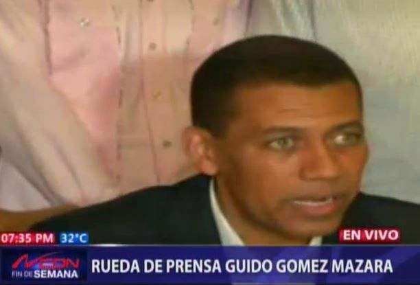 Rueda De Prensa De Guido Gómez Mazara #Video