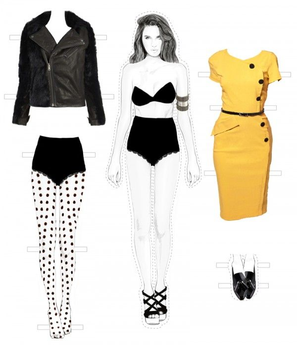 Paper Doll Series : Styling Tips
