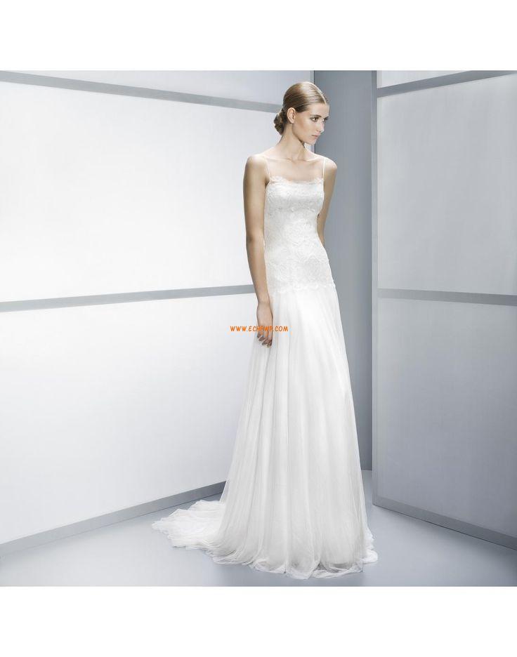 Kostel Tyl Přírodní Levné svatební šaty