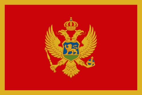 Montenegro Flag..