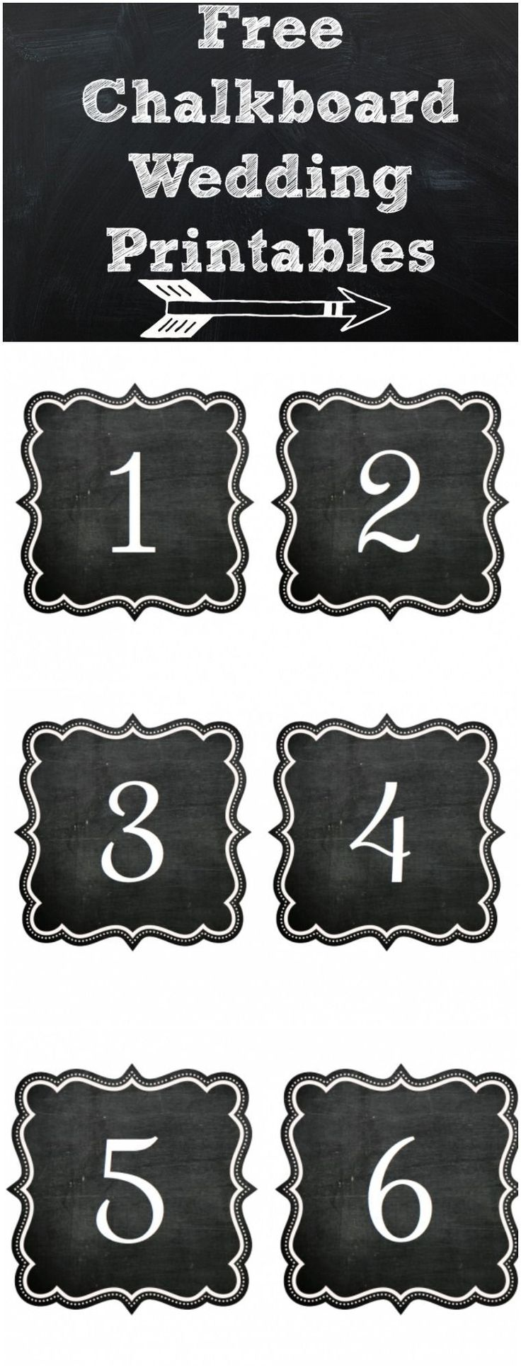 We are kicking off a brand new feature here on Rustic Wedding Chic which is our new Free Custom Rustic Wedding Printables. We will soon be offering a wide variety of free printables that have been created for Rustic Wedding Chic by some of the finest stationary and wedding artist around. To kick things off we have these amazing chalkboard table number printables which were designed by the very talented Kristin from Page Simple Studio. Be sure to check out Paige Simple Studio's website and…