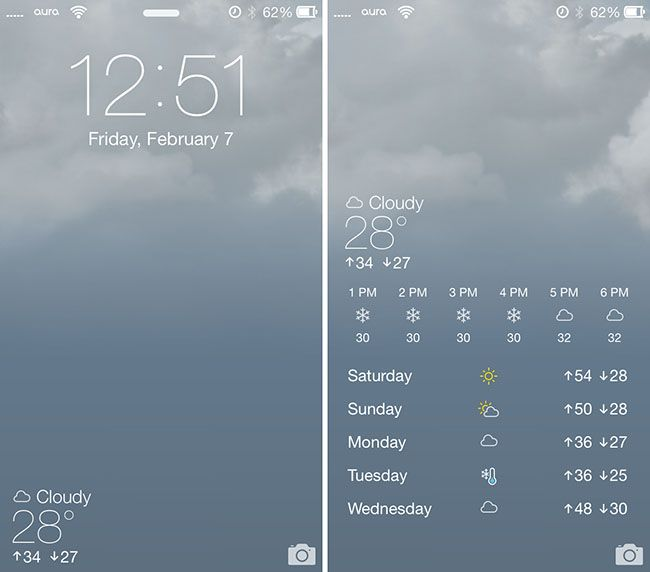 Forecast brings Live Weather Animated Wallpapers; 5-day Forecast