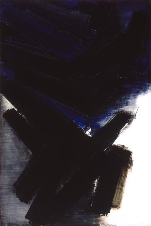 """""""Composition (1956)"""" by Pierre Soulages"""