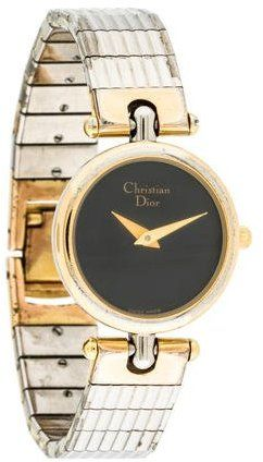 Christian Dior Watch with Charcoal Flat Dial