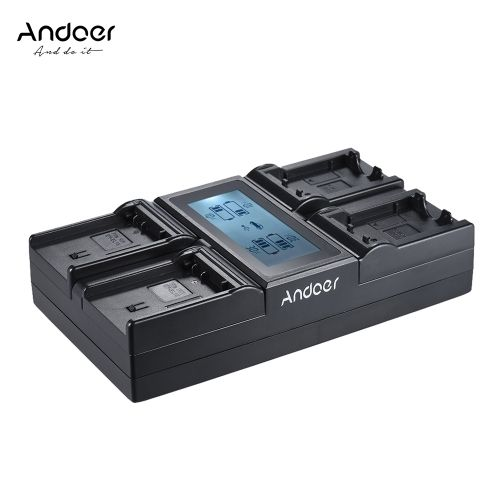 (28.1$)  Watch now - http://air48.worlditems.win/all/product.php?id=D4656-9UK - Andoer LP-E6 LP-E6N 4-Channel Digital Camera Battery Charger w/ LCD Display for Canon EOS 5DII 5DIII 5DS 5DSR 6D 7DII 60D 80D 70D