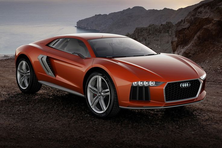 Audi Nanuk Quattro Concept. Said to have 4-wheel-steering and adjustable suspension.