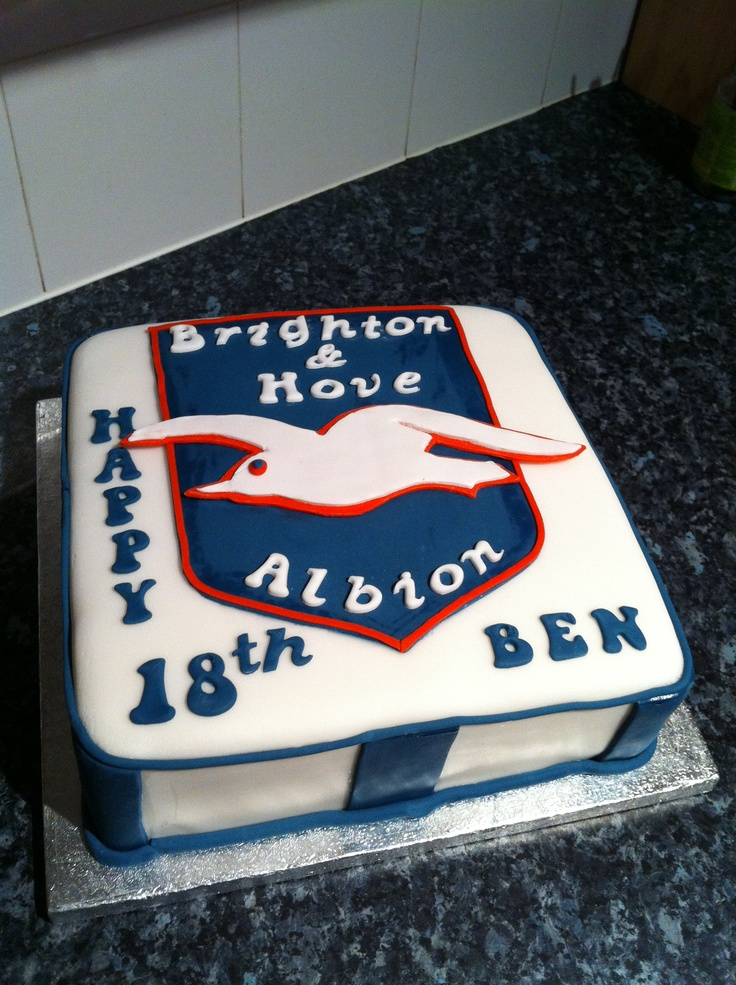 Brighton & Hove birthday cake