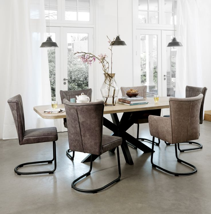 40 best images about eetkamer on pinterest tes ps and design - Tafel eetkamer industriele ...