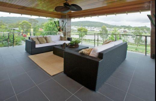Alfresco area tiling inspiration