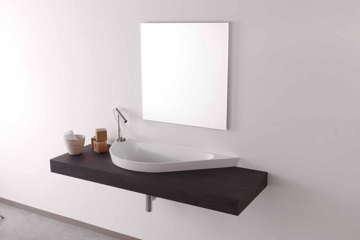 New at Alternative Bathrooms, the Horus basin is a sweeping, sculptural design by the Italian architect Marco Baxadonne. Inspired by the ancient Egyptian 'Eye of Horus' symbol, it's a large basin with curvaceous lines, giving strong design focus to contemporary bathrooms alternativebathro...