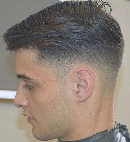 Männer Taper Fade Haircut