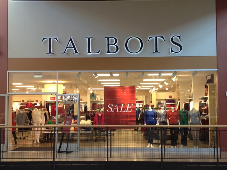 Talbots is a leading retailer of classic apparel and accessories, known for providing gracious service and a quality selection of timeless wardrobe essentials. Talbots Outlet stores continue those traditions while offering a range of new styles designed exclusively for us in Misses, Petite and Woman sizes.