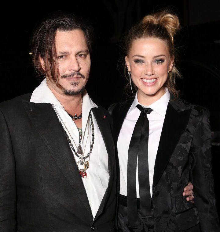 "So Cute!: Johnny Depp Thanks Wife Amber Heard For ""Putting Up With Him"""