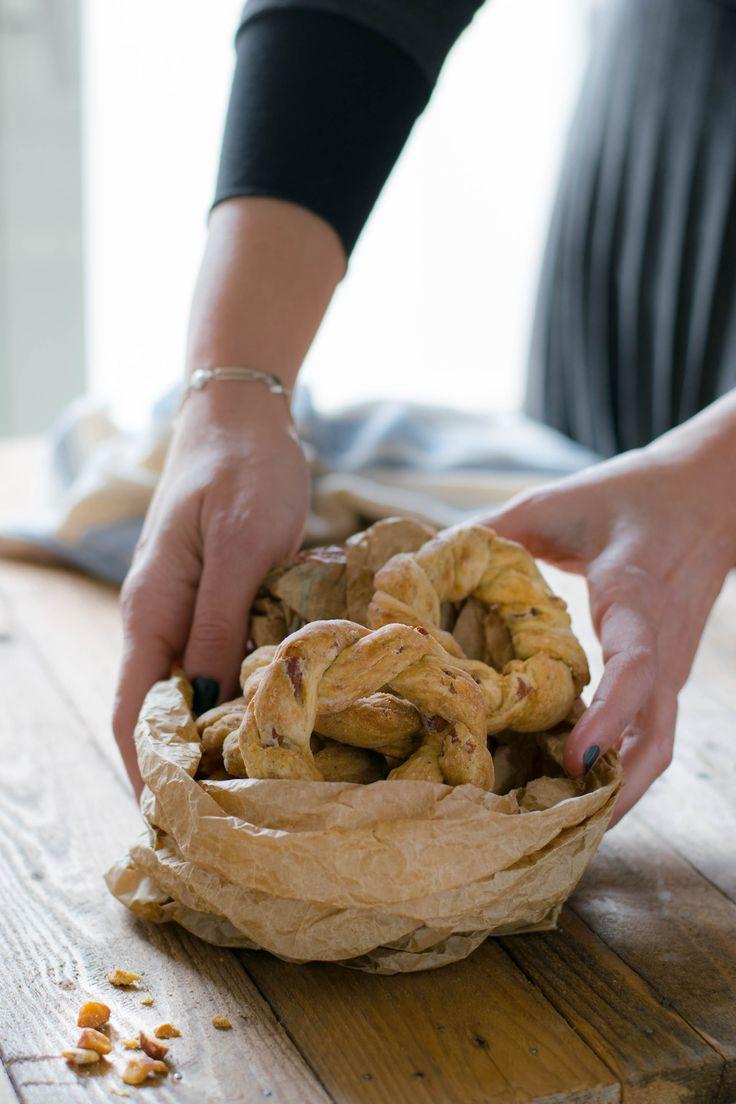Taralli sugna e pepe napoletani con foto passo passo