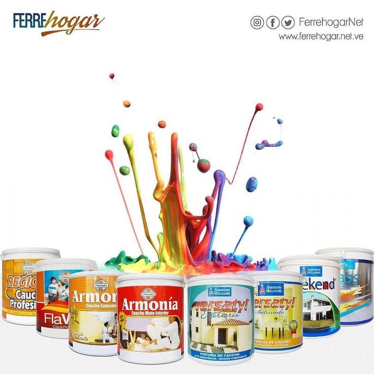 Quieres pinturas de excelente calidad durabilidad y rendimiento? No busques mas! Visita nuestra tienda y conoce la gran variedad de pinturas que tenemos para ti excelente calidad y precios insuperables... Te Esperamos!! #PintaDecoraRenueva #Pintura #Color #Colores #flamuko #sherwinwilliams #venezolanadepinturas #pinturascebra #proplastic #pintuluz #solintex #sika #pinturapizarron #ecocolor #emulven