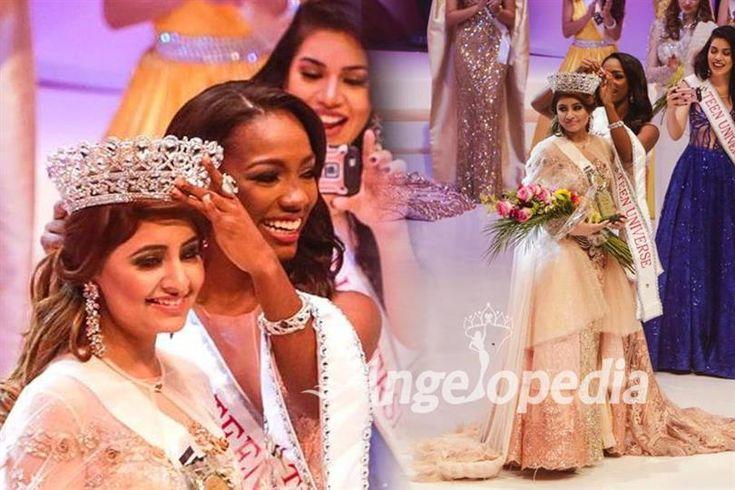 Srishti Kaur from India crowned as Miss Teen Universe 2017