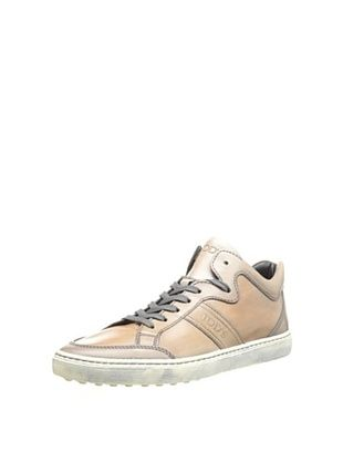 46% OFF Tod's Men's Mid-Top Sneaker (Grey Brown)
