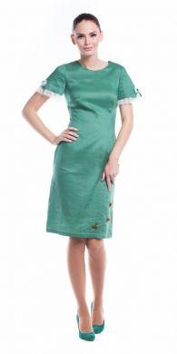 Rochie Ozana, verde