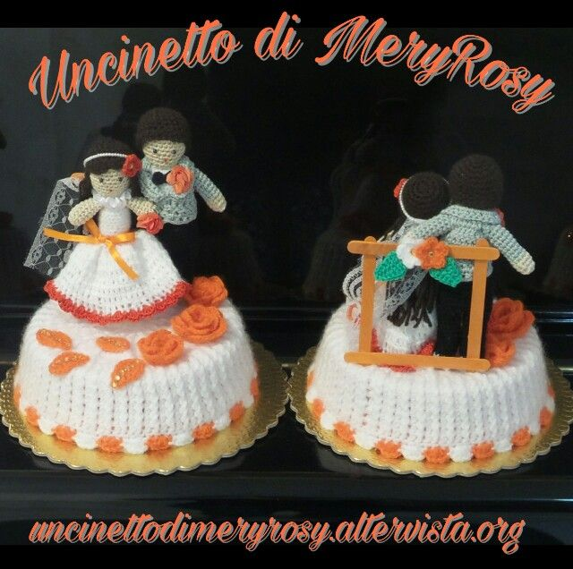 Torte amigurumi per i 20 anni di matrimonio Amigurumi cakes for 20 years of marriage #torta #amigurumi #crocheted #crochet #handmade #fattoamano #diy #uncinetto #torte #cake #cakes #cakedesign #cakedecorating #matrimonio #anniversary #anniversario #marriage #dolls #doll #bomboniere #weddingfavor
