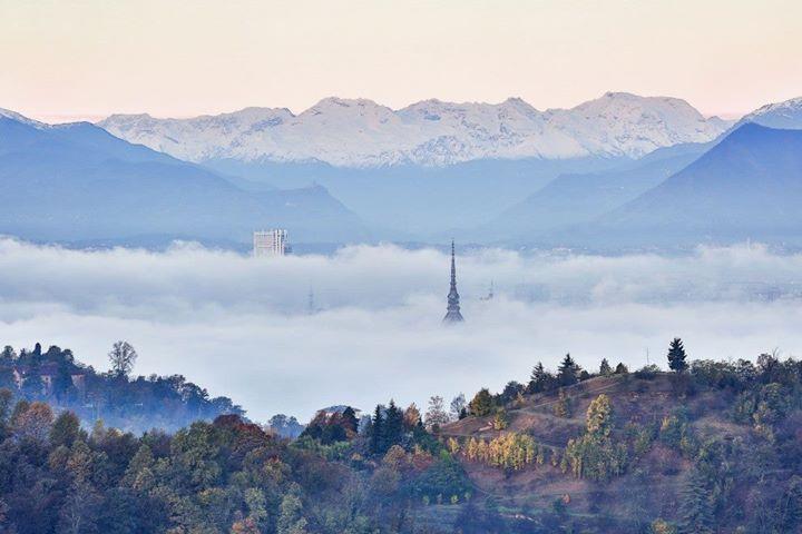 L'alba di Torino immortalata negli scatti del fotografo Valerio Minato pH