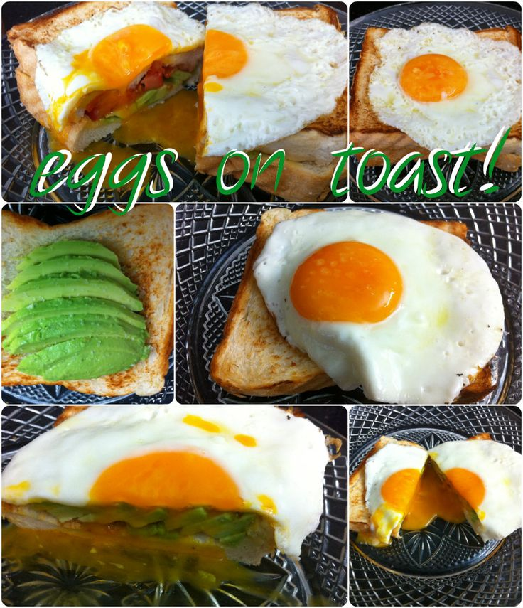 How do you have your eggs on toast?