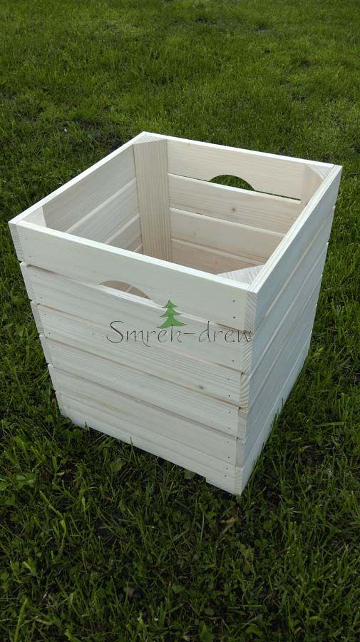 Skrzynka Drewniana G23-6 Producent wyrobów z drewna Smrek-Drew :: krzynki z drewna :: karmini z drewna :: budki drewniane dla gryzoni