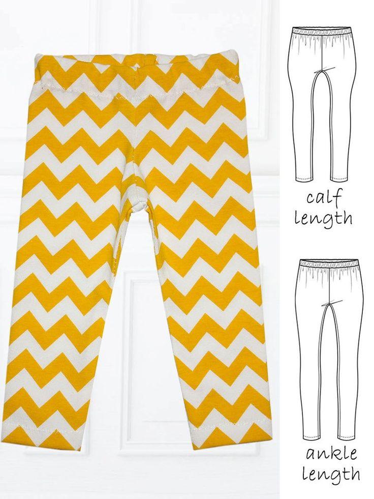 Leggings Sewing Pattern - SIMPLE