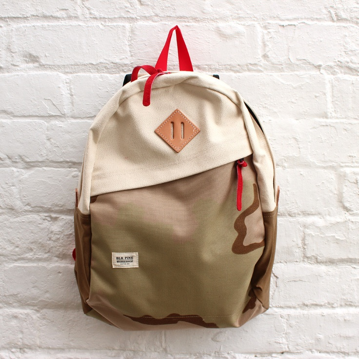 BLK Pine Workshop Slope Daypack  Natural / Desert Camo £124.99