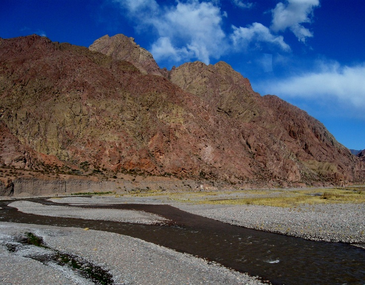 The Andes in Argentina