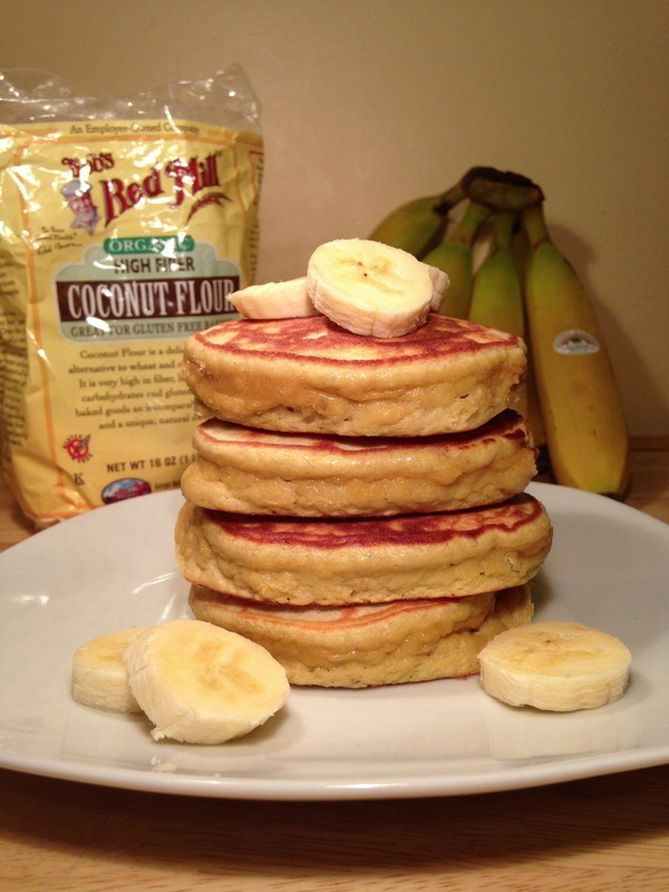 These are the fluffiest pancakes I've seen on here, gonna have to give them a try! Paleo Banana Protein Pancakes