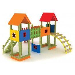 Anaokulu Yuvarlak Merdivenli Çocuk Oyun Parkı