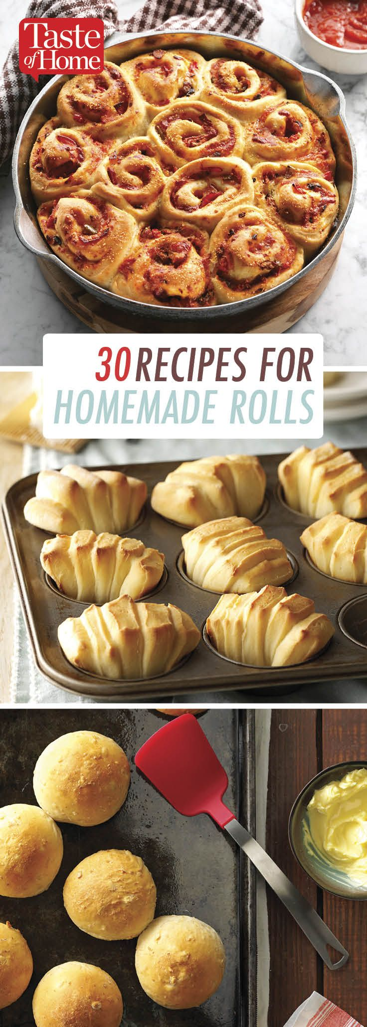 30 Homemade Roll Recipes That are Sure to Please
