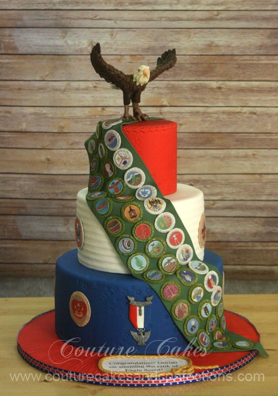 eagle scout cake | View more images of this Eagle Scout Cake on our website at http://www ...