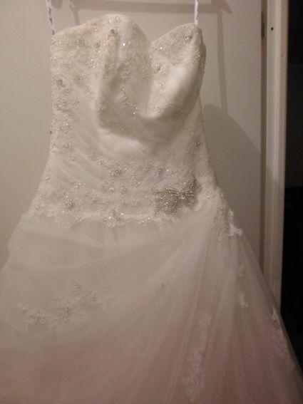 Robe de mariée miss kelly 2013 - Gard