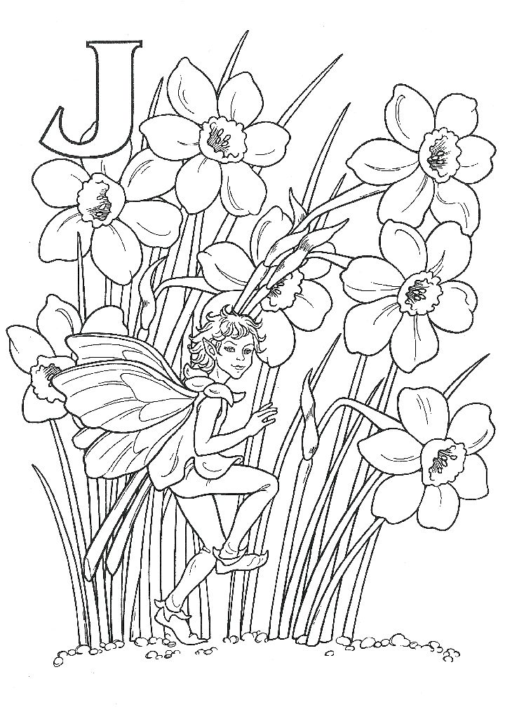 1000 images about Faerie Coloring