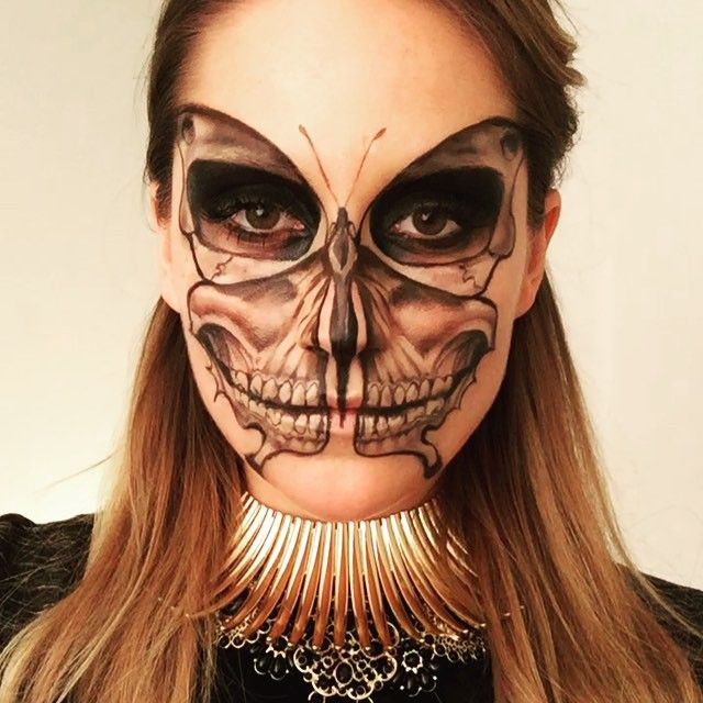 653 best Strange Makeup ;) images on Pinterest | Halloween makeup ...