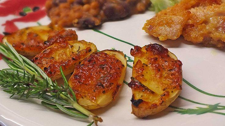 Knusprige Honig - Kartoffeln, ein gutes Rezept aus der Kategorie Backen. Bewertungen: 94. Durchschnitt: Ø 3,8.